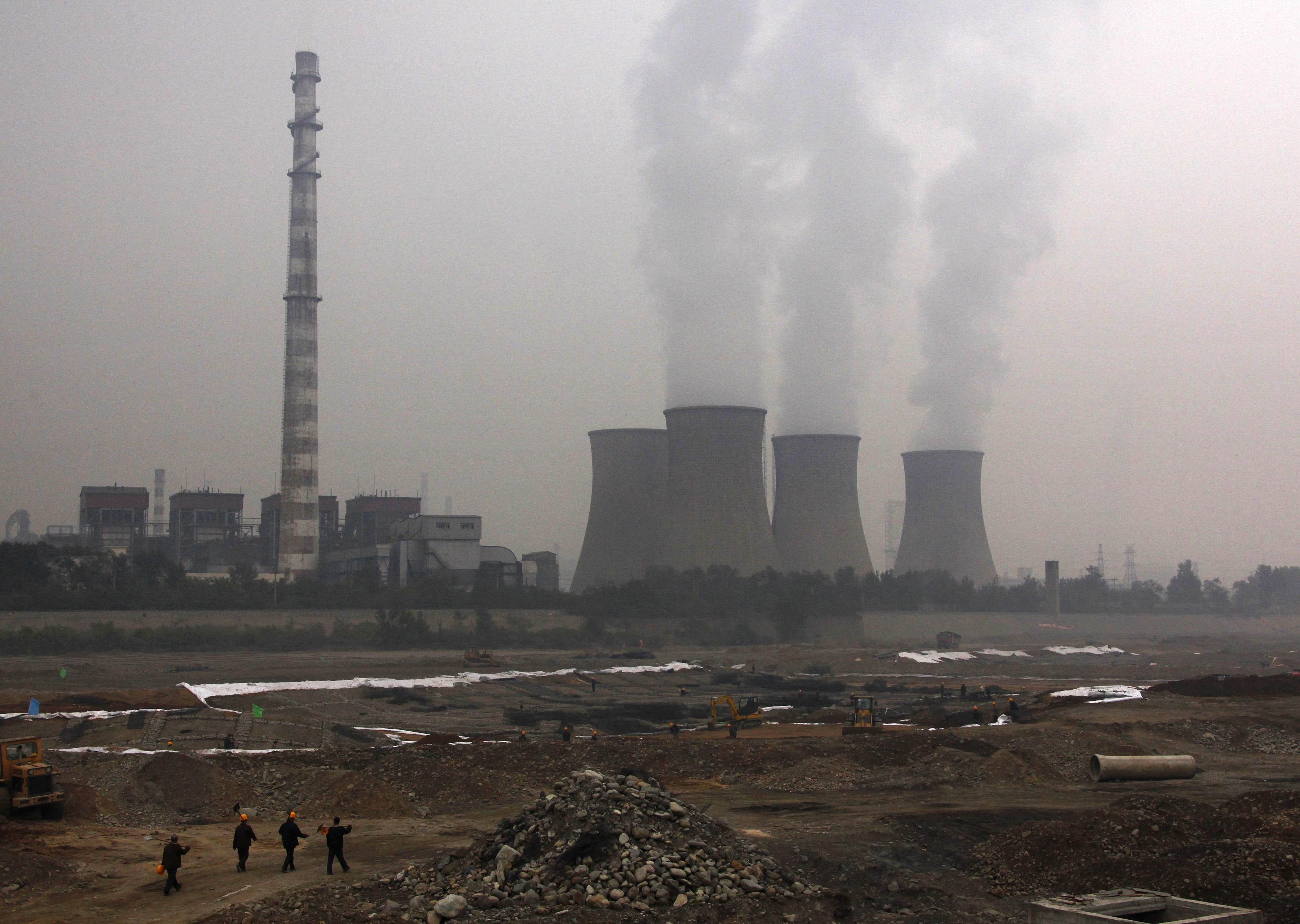 A coal-fired power plant in China. Reuters
