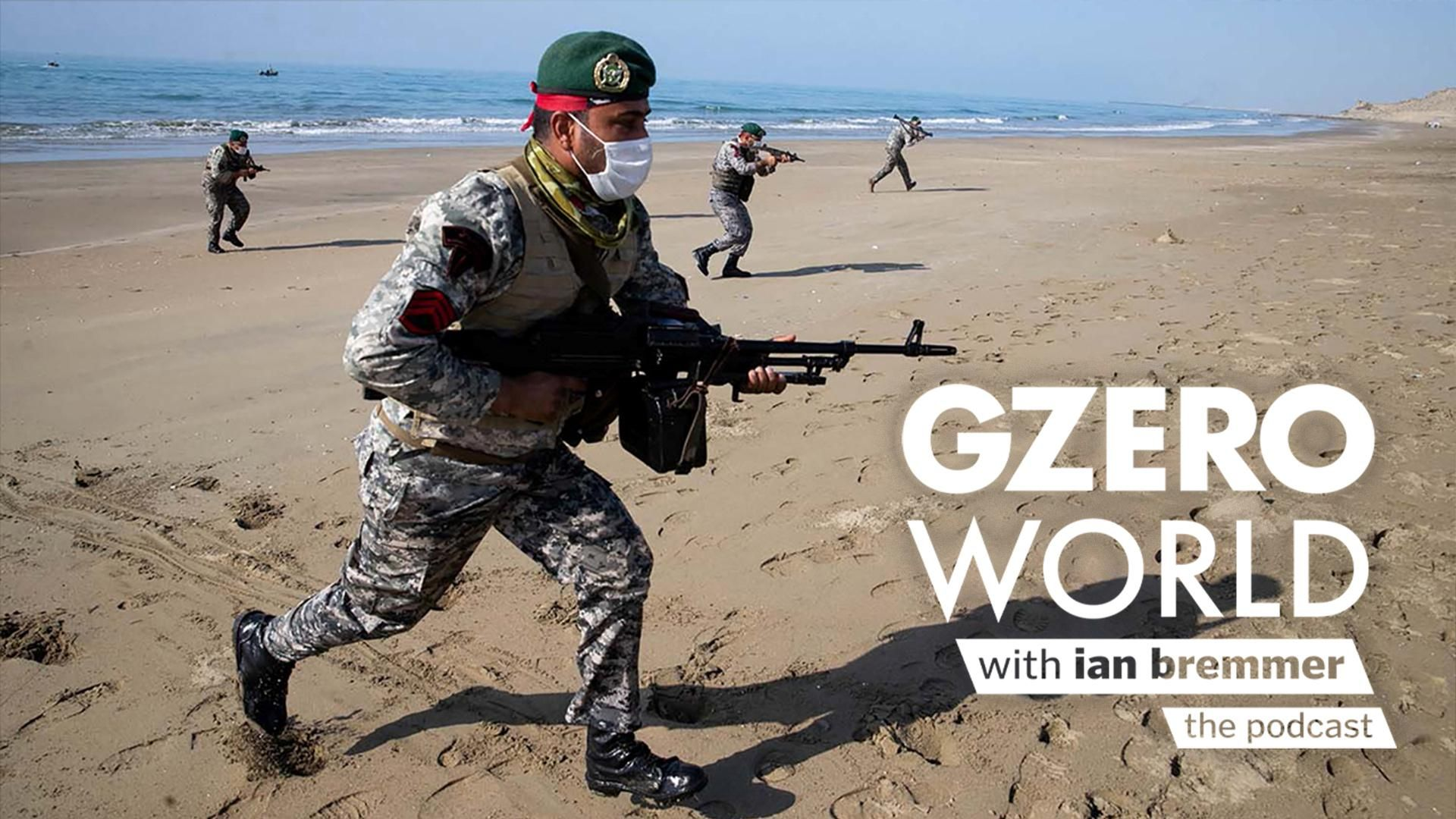 A soldier on a beach in the Middle East.  Is the US Misjudging the Middle East's Power Shifts?