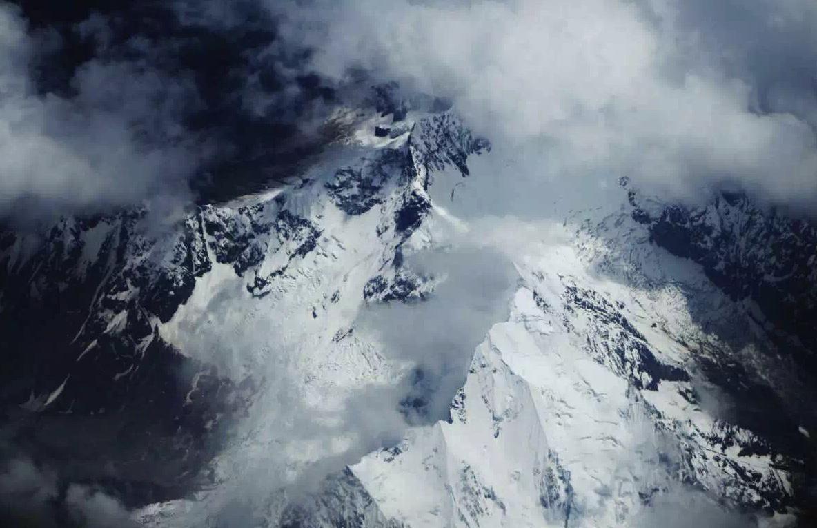 Aeril photo of Mount Everest. Reuters