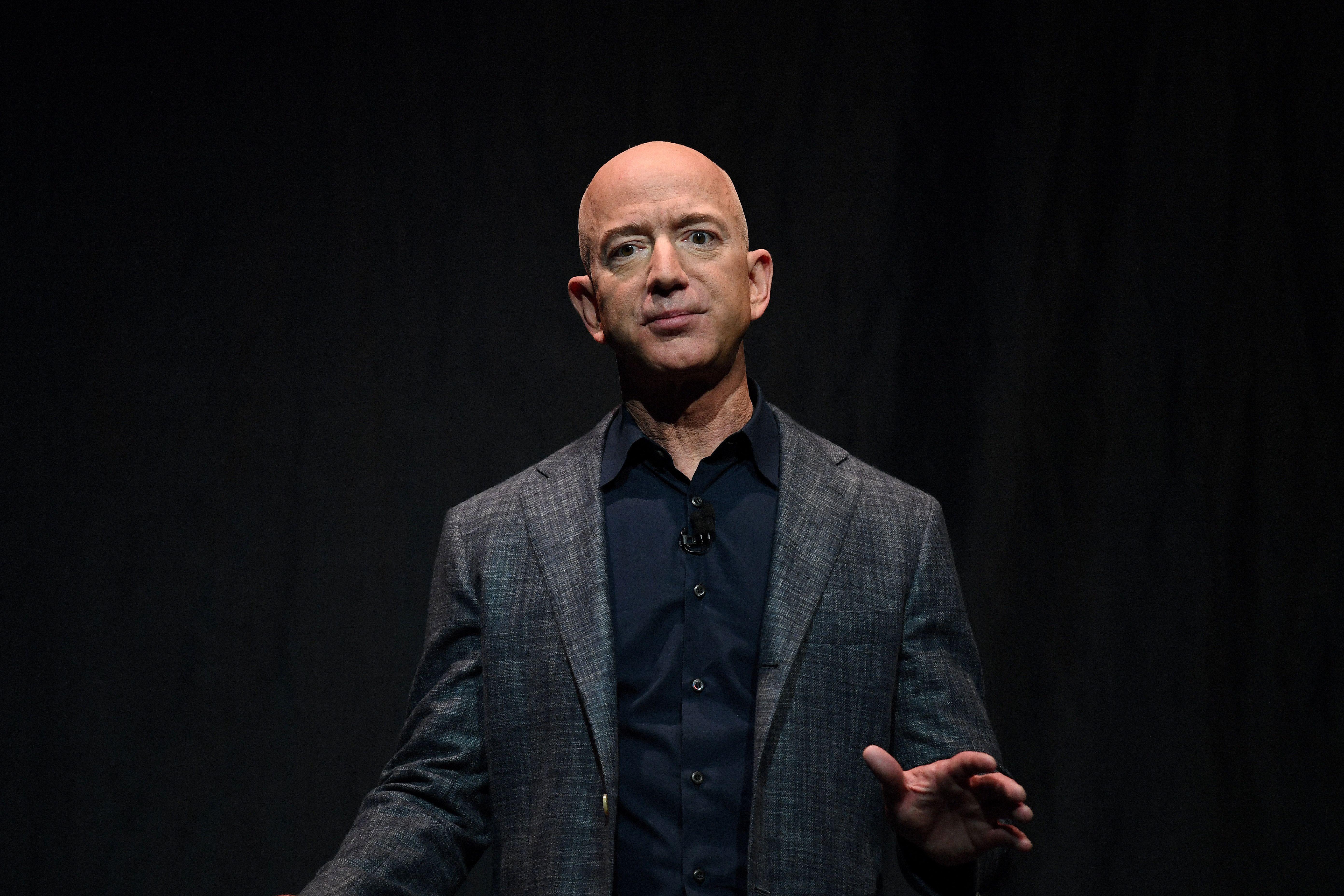 Amazon owner Jeff Bezos. Reuters