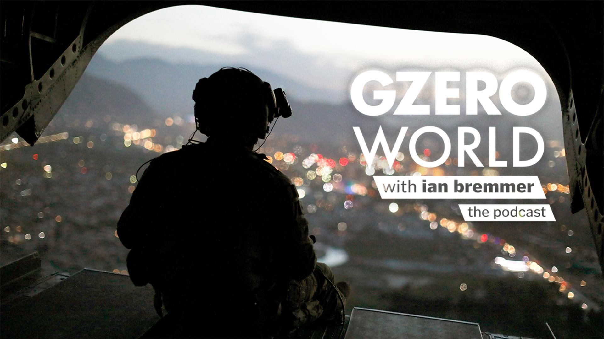 An American soldier in Afghanistan