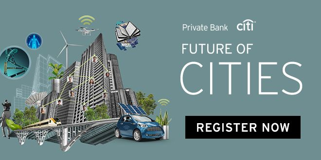 Citi Private Bank: Future of Cities - Register Now