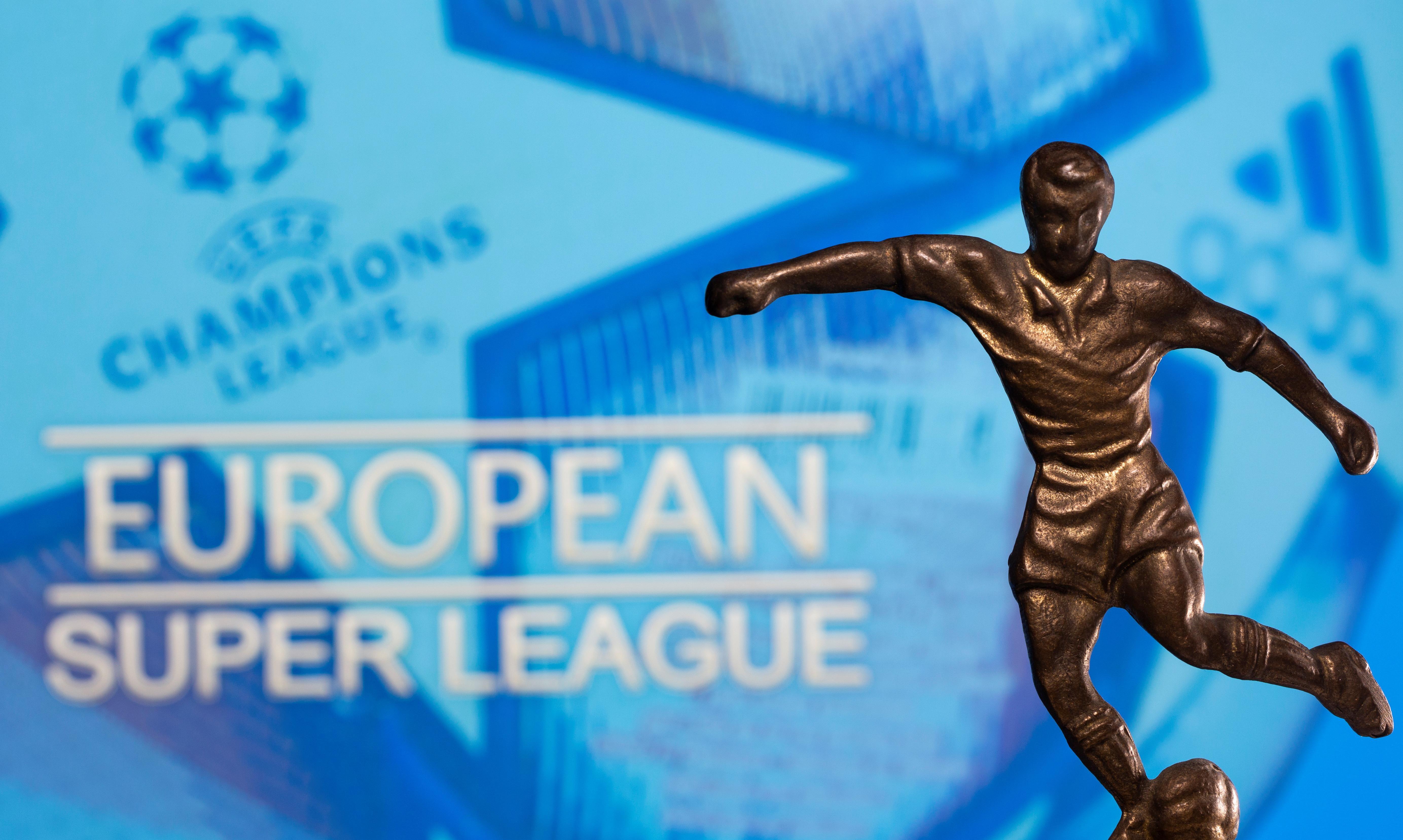 European soccer's civil war