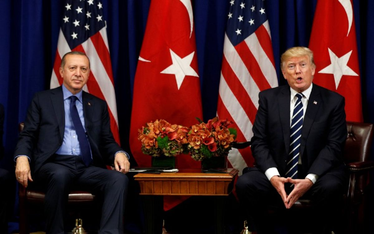 Erdogan V Trump