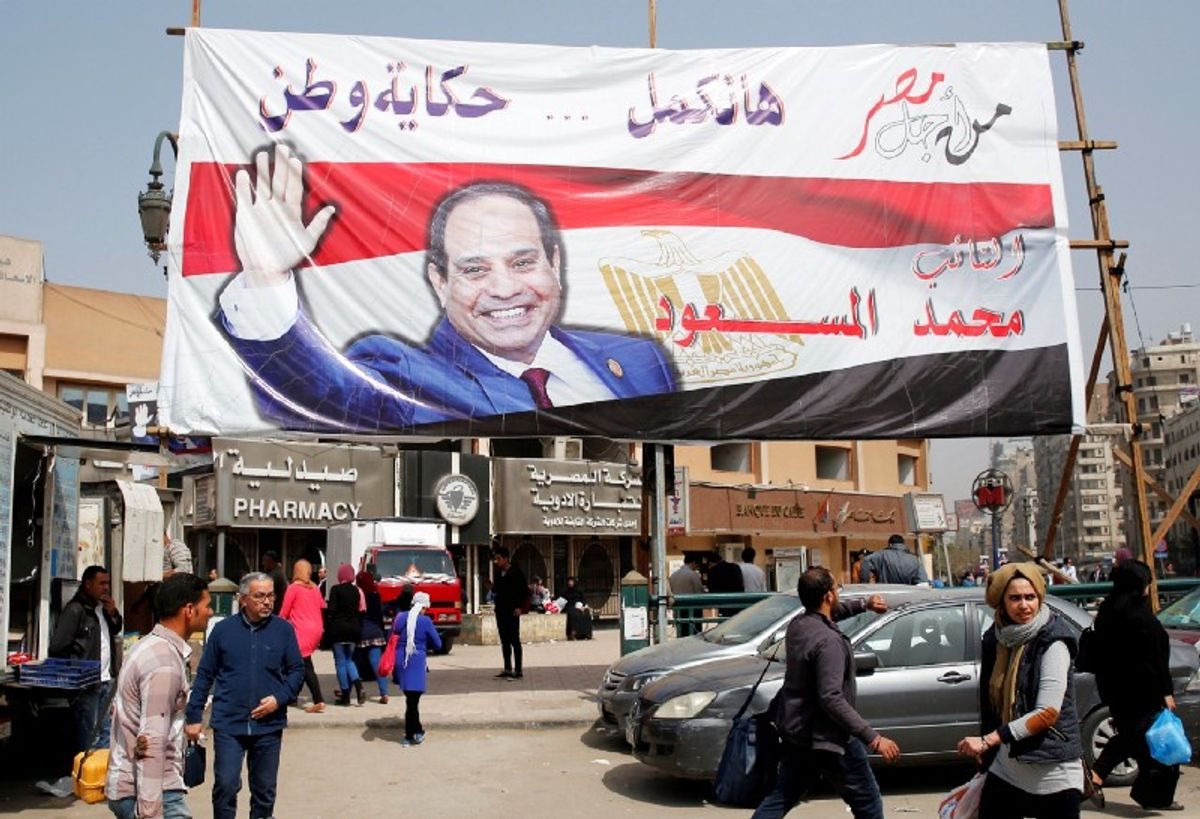 A River of Challenges for Egypt's Sisi
