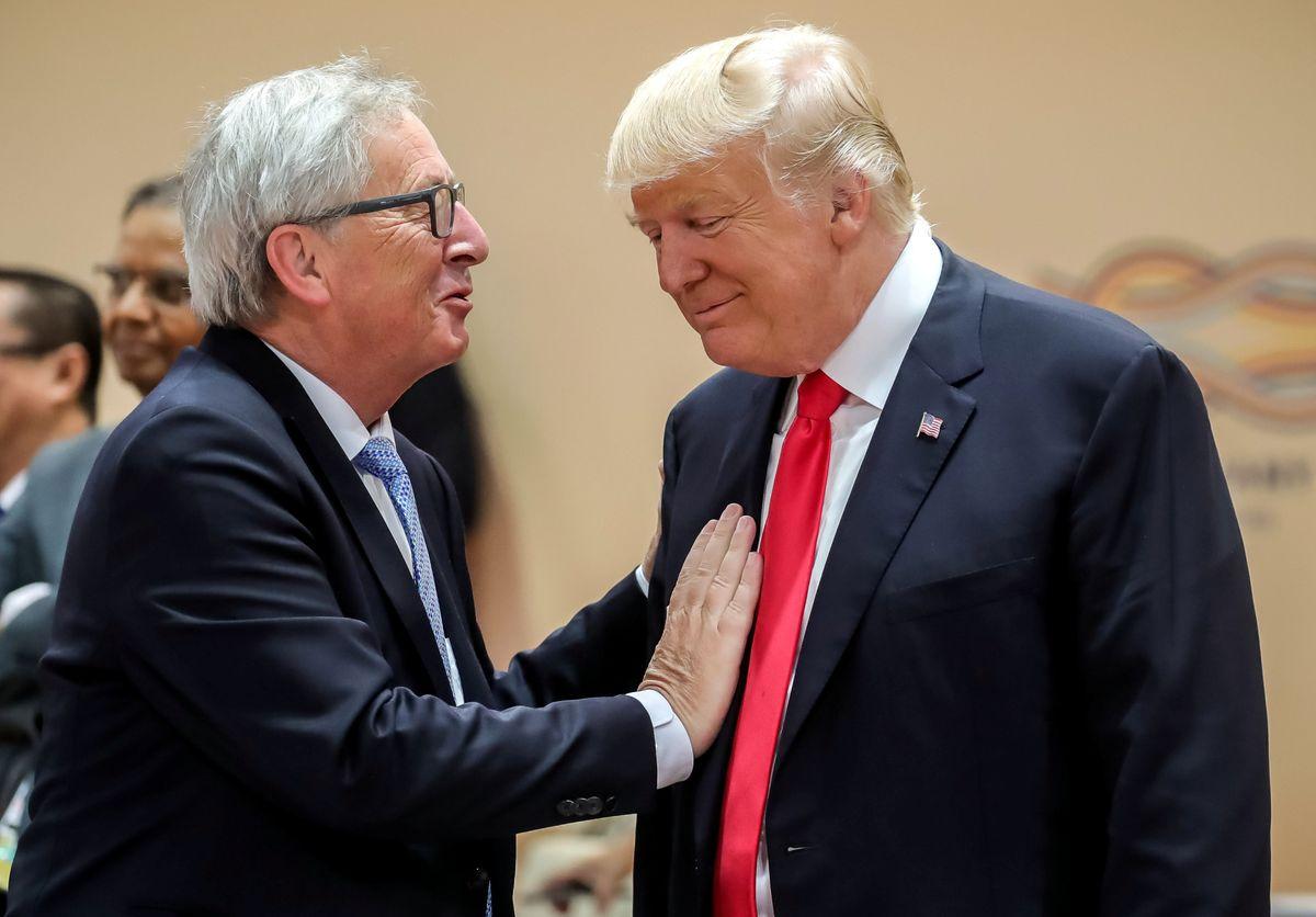 Mr. Juncker Goes To Washington