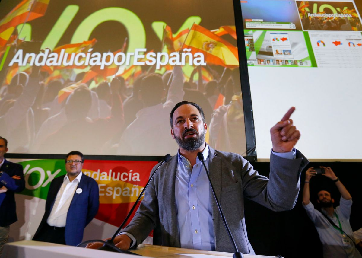 A NEW VOICE MAKES ITSELF HEARD IN SPAIN