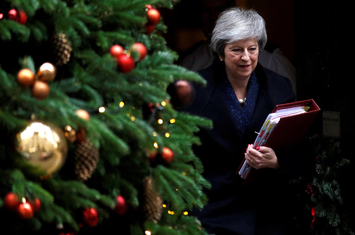 Brexit: Holiday Cheer and Political Betrayal