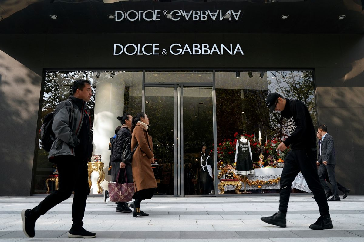 CHINA: NOT SO DOLCE FOR GABBANA