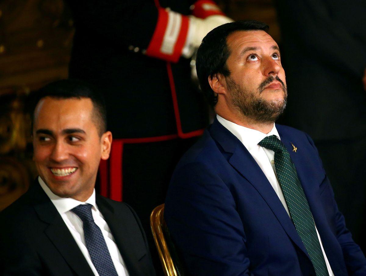 Italy vs Macron