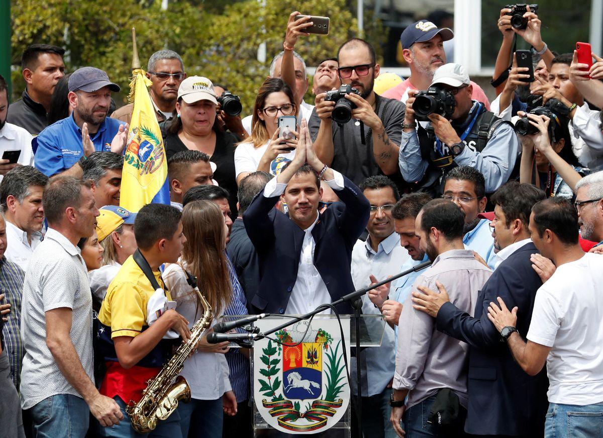 VENEZUELA: GUAIDÓ RETURNS TO VENEZUELA FULL OF FIGHT