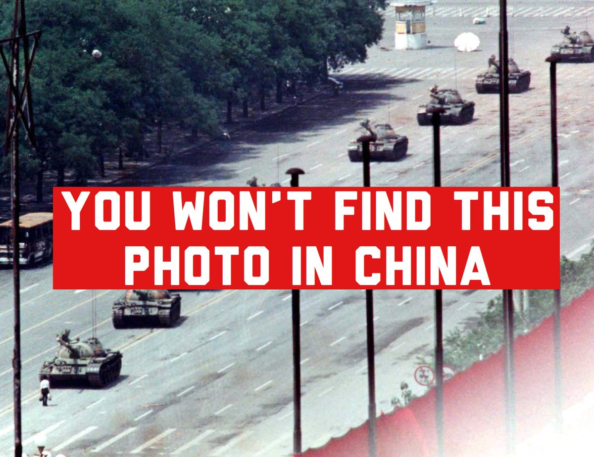 The Battle for Control of Tiananmen