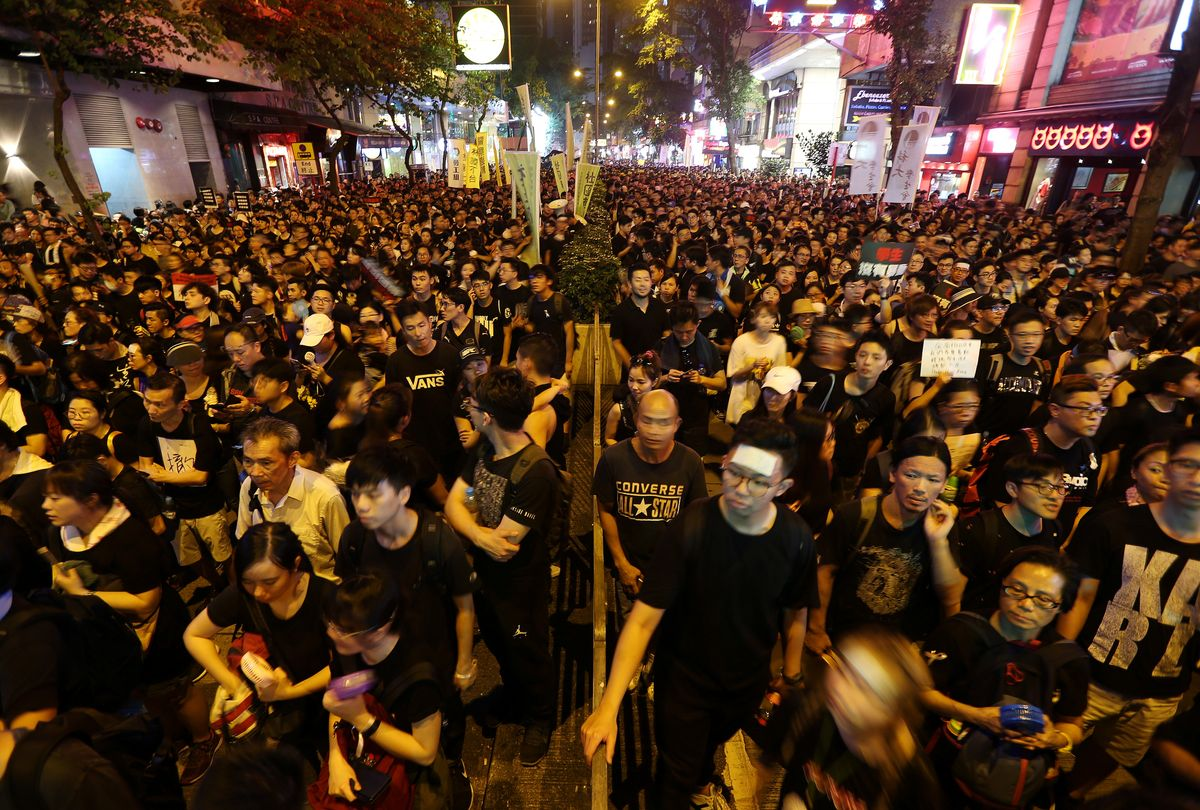 Hong Kong: Surrender or Tactical Retreat?