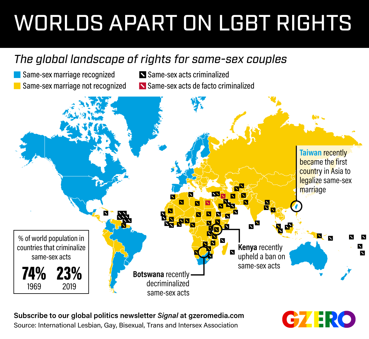 Graphic Truth: LGBT Worlds Apart