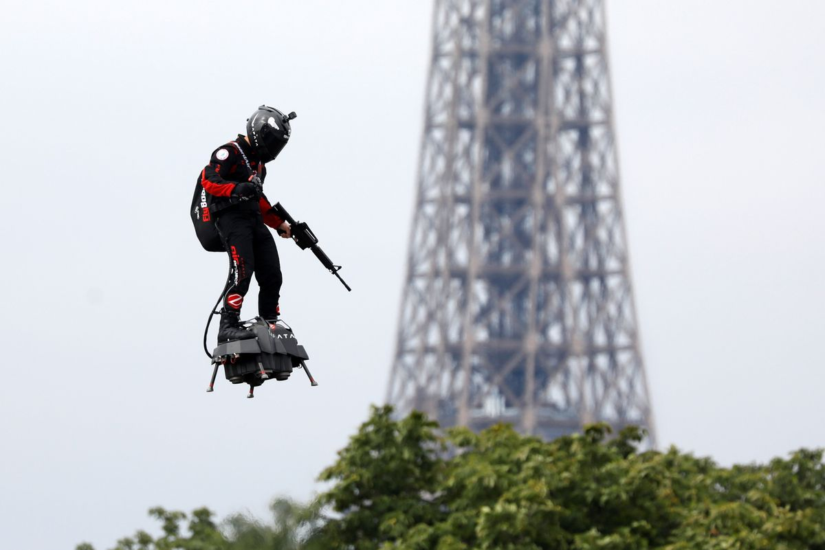 What We're Watching: Something Insane Over Paris
