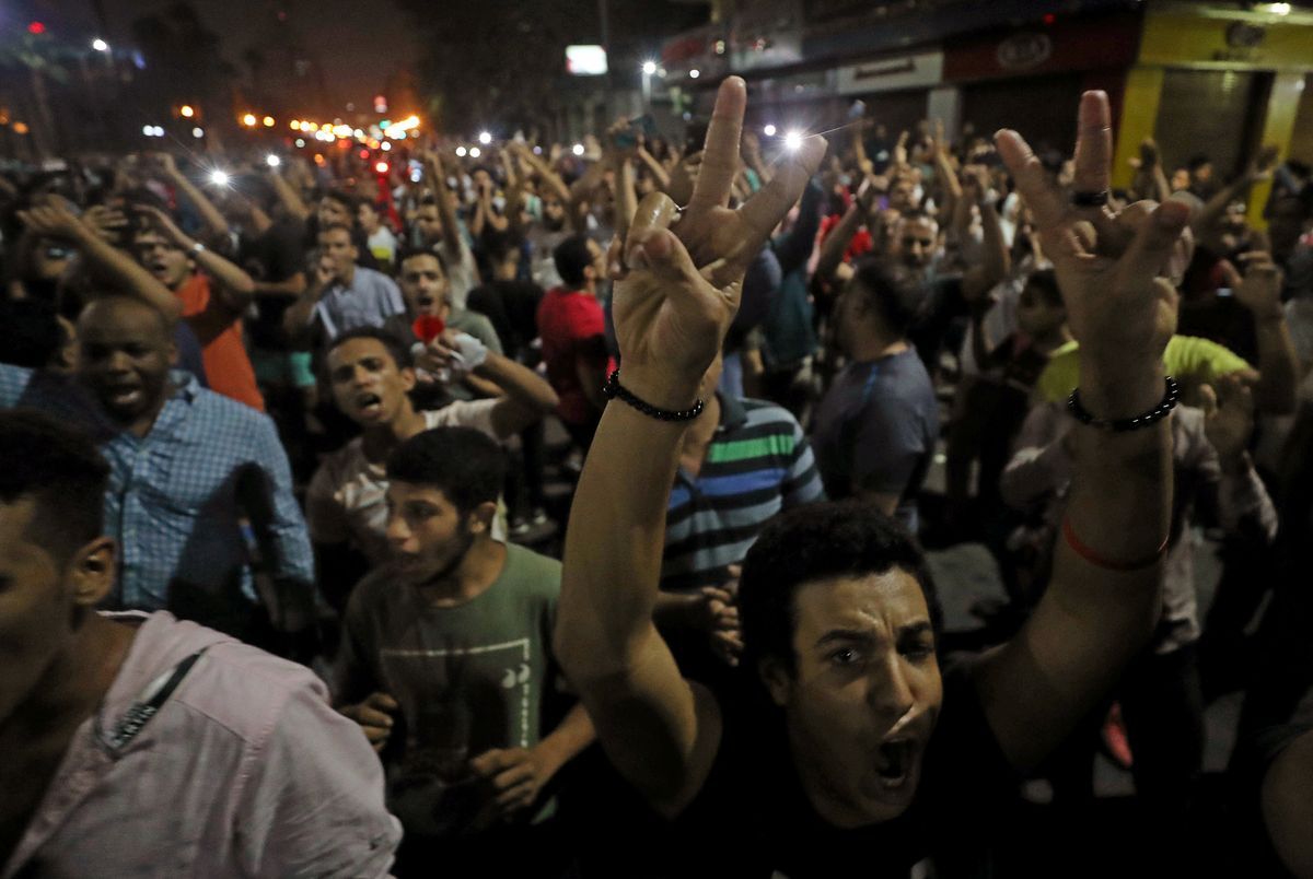 What We're Watching: Another Egyptian Uprising?