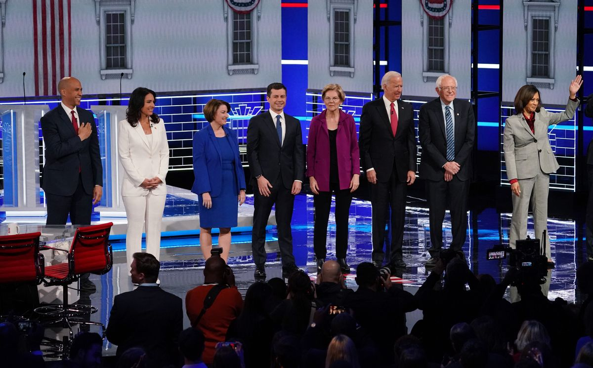 The Democratic debate: foreign policy makes a comeback!