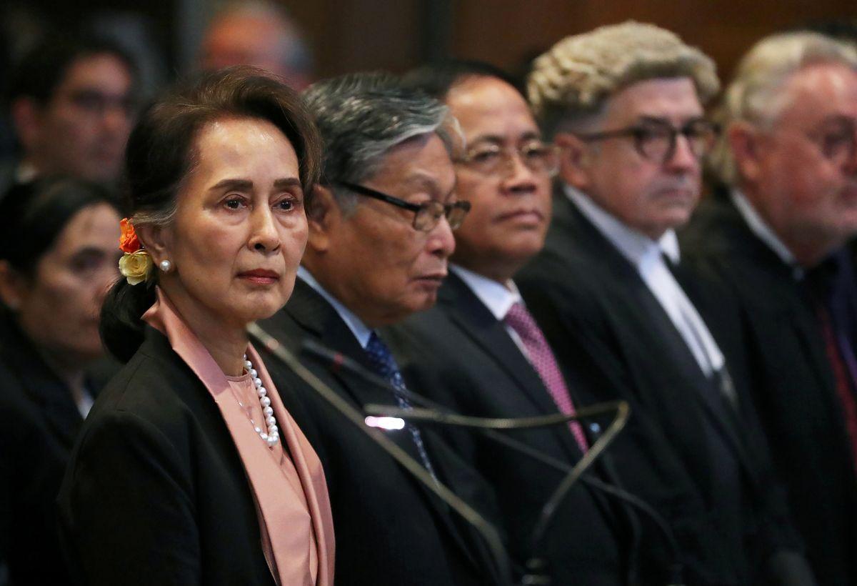A Nobel laureate defends Myanmar at The Hague