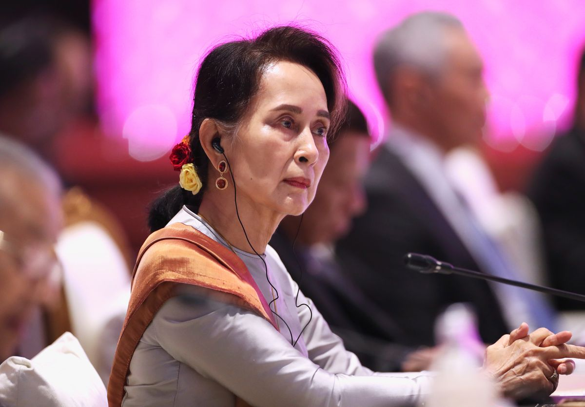 What We're Watching: Myanmar's Nobel Peace Prize winner at the Hague