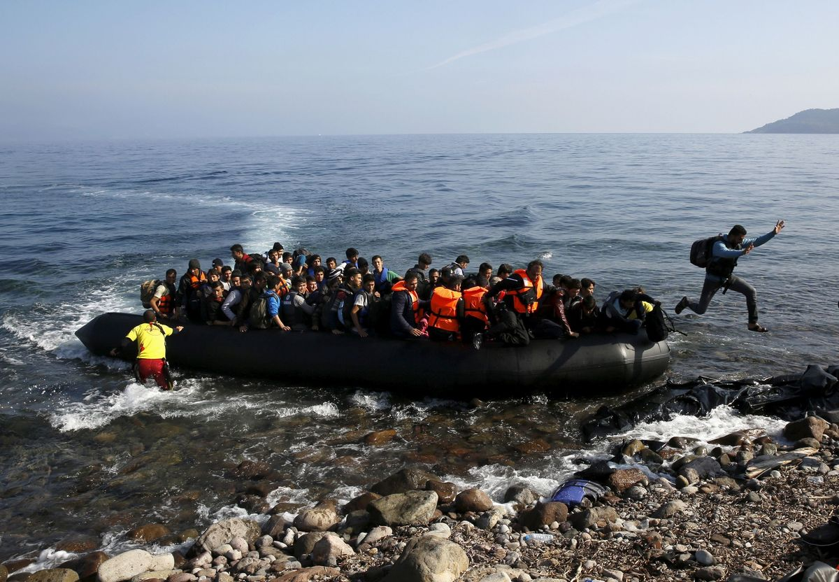 Hard Numbers: Greece wants to build a new wall in the sea to deter migrants