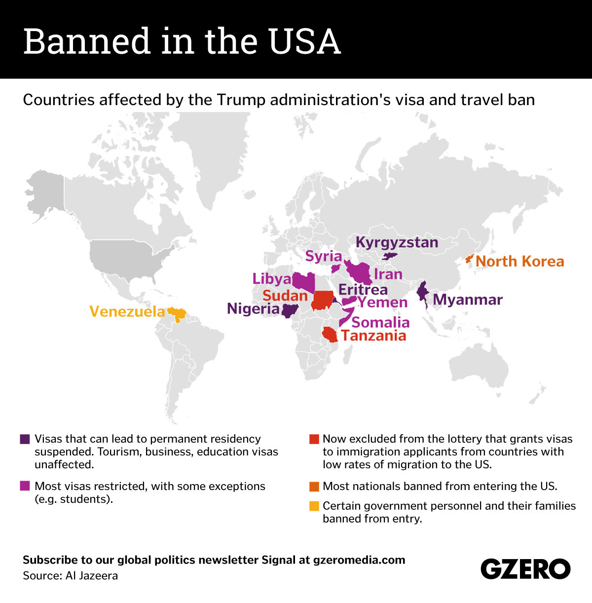 The Graphic Truth: Banned in the USA