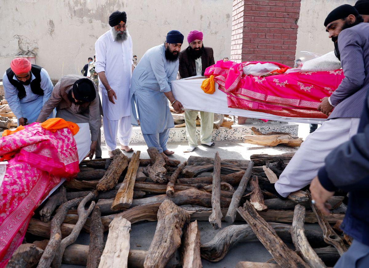 Hard Numbers: Sikhs killed in Kabul, EU's scant medical resources, and Khashoggi's killers