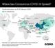 The Graphic Truth: Where has coronavirus COVID-19 spread?