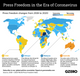 The Graphic Truth: Press freedom in the era of coronavirus