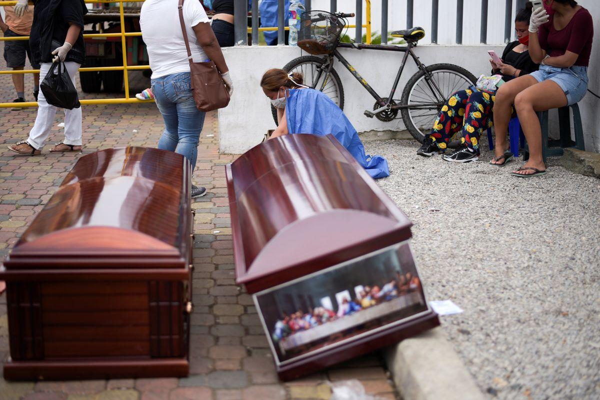 Hard Numbers: Ecuador as epicenter, cocaine face masks, Libya ceasefire, Ortega returns