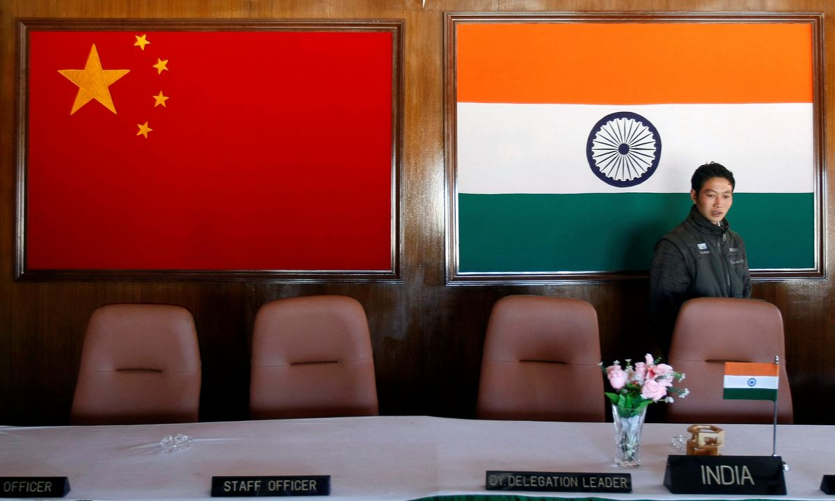 What's going on between India and China?