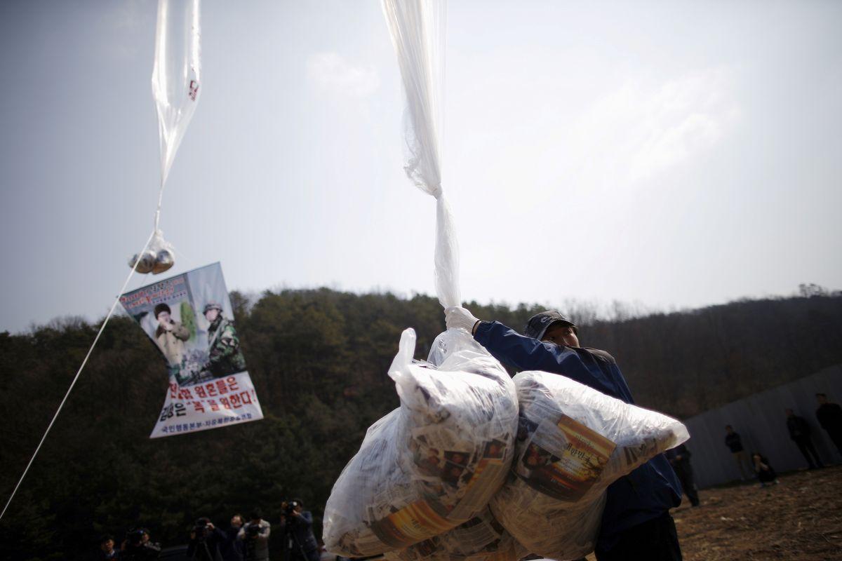 Hard Numbers: North Korean leaflets — and trash, Arctic heat, hunger in Latin America, German slaughterhouse outbreak
