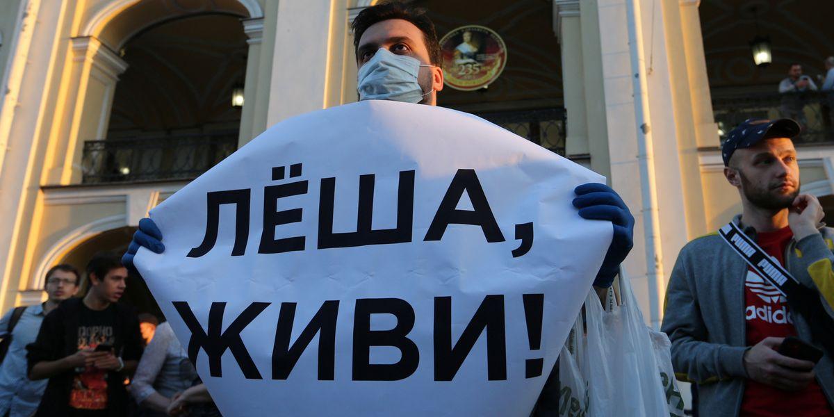 Дадут ли на Западе выжить Навальному?