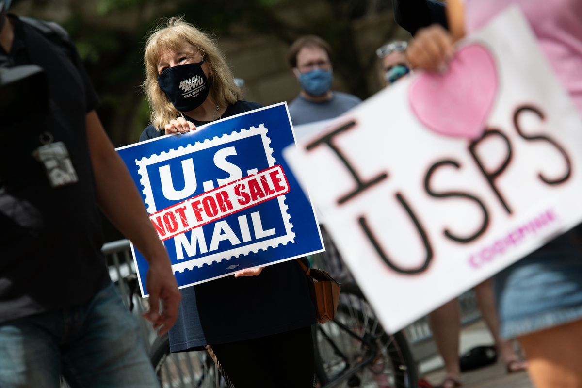 Why voting by mail in US swing states could go wrong