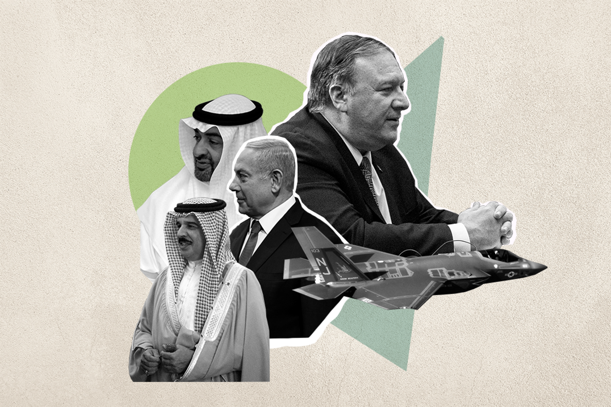 Why is Mike Pompeo in the Middle East?