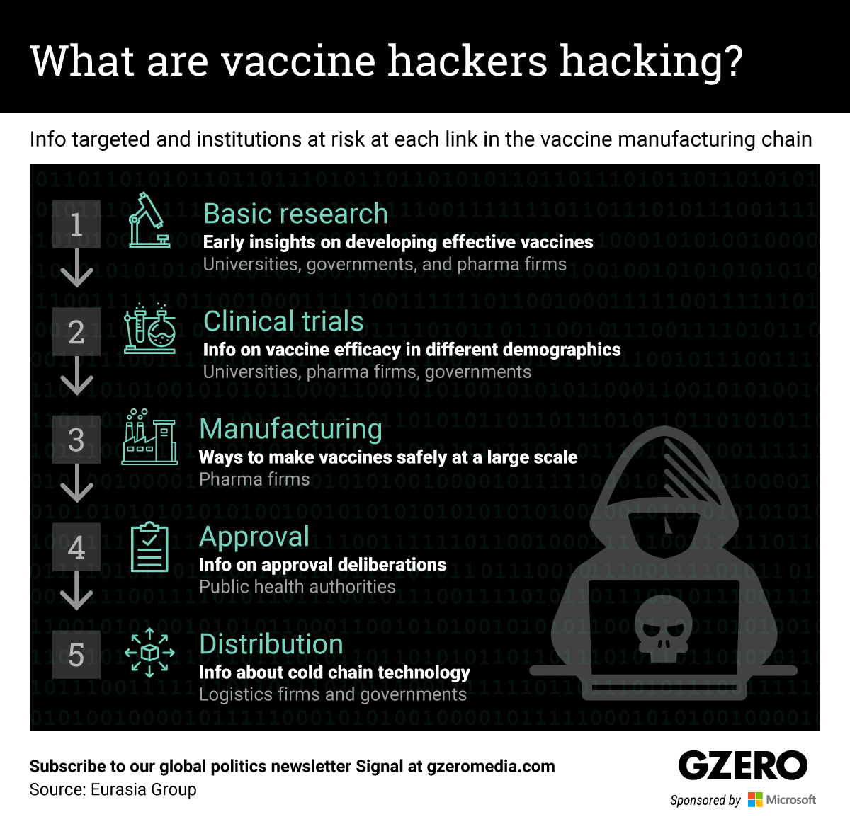 The Graphic Truth: What are vaccine hackers hacking?