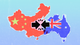 Australian and Chinese national flags
