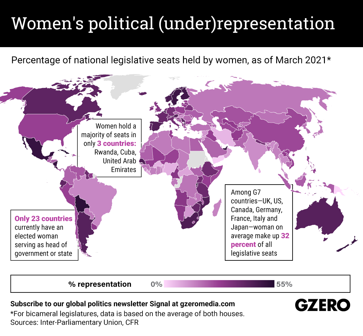 The Graphic Truth: Women are still underrepresented