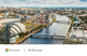 Image of a waterway running through Glasgow.