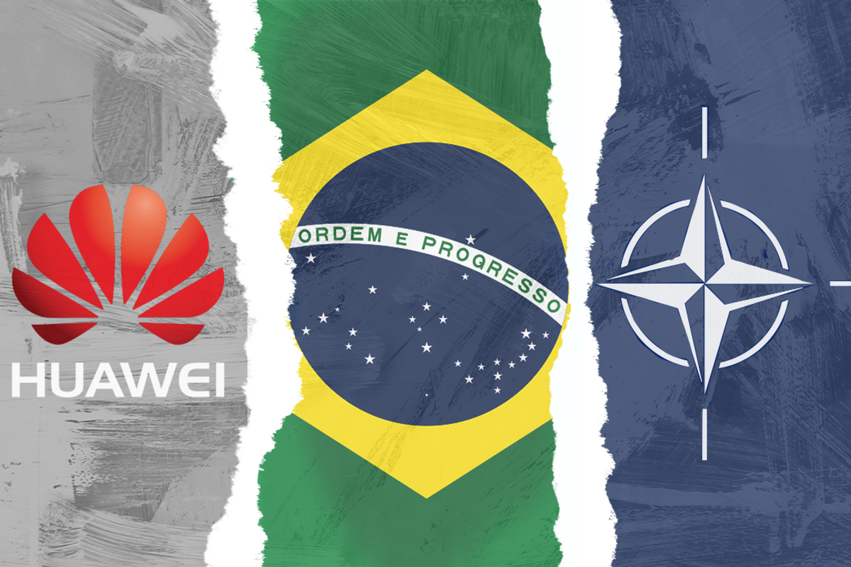 Is the US forcing Brazil to go against China or not?