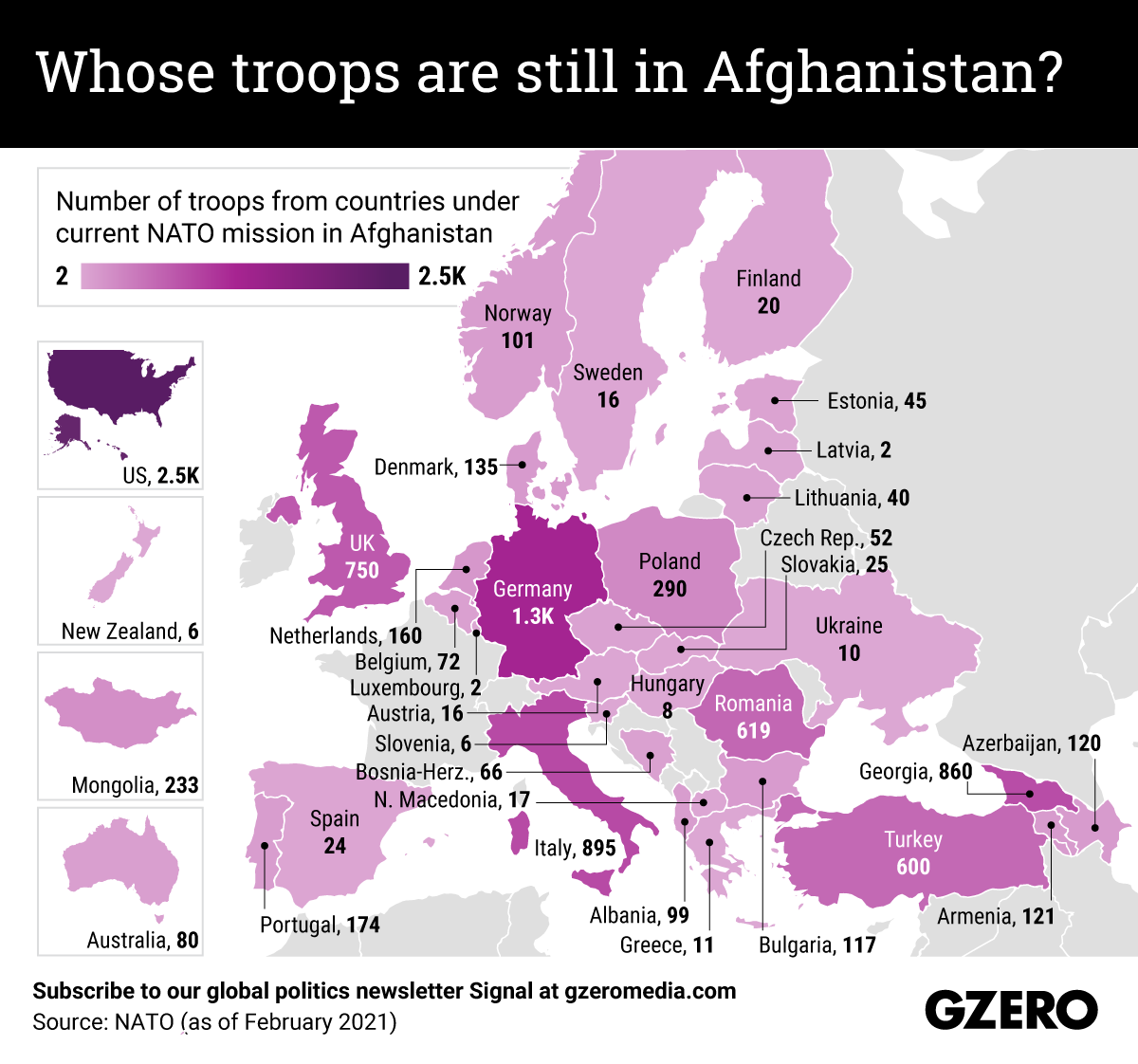 The Graphic Truth: Whose troops are still in Afghanistan?