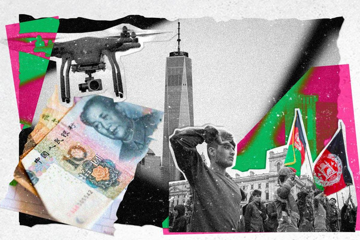 Enter China, exit policeman: How the world has changed since 9/11