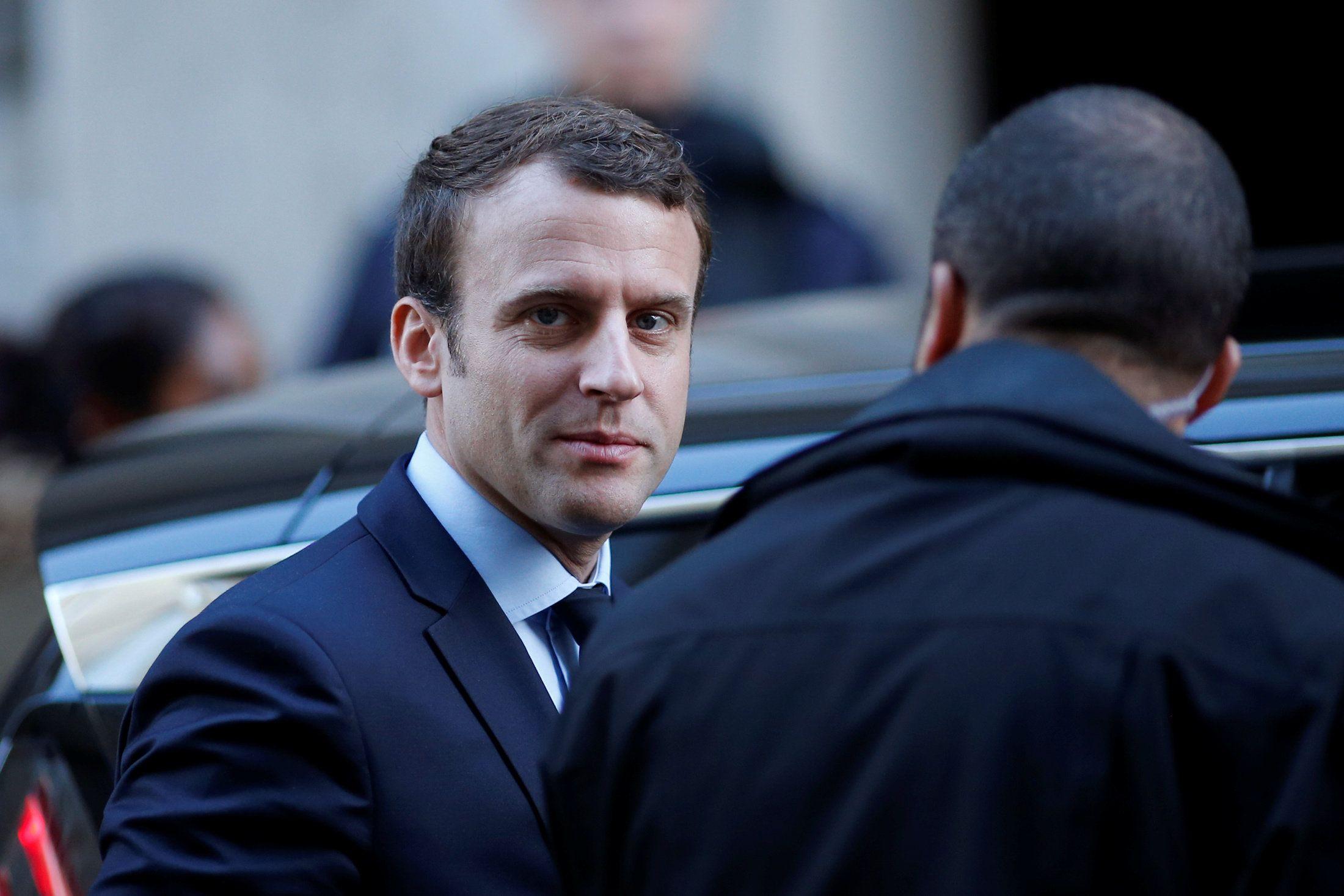 French President Emmanuel Macron. Reuters