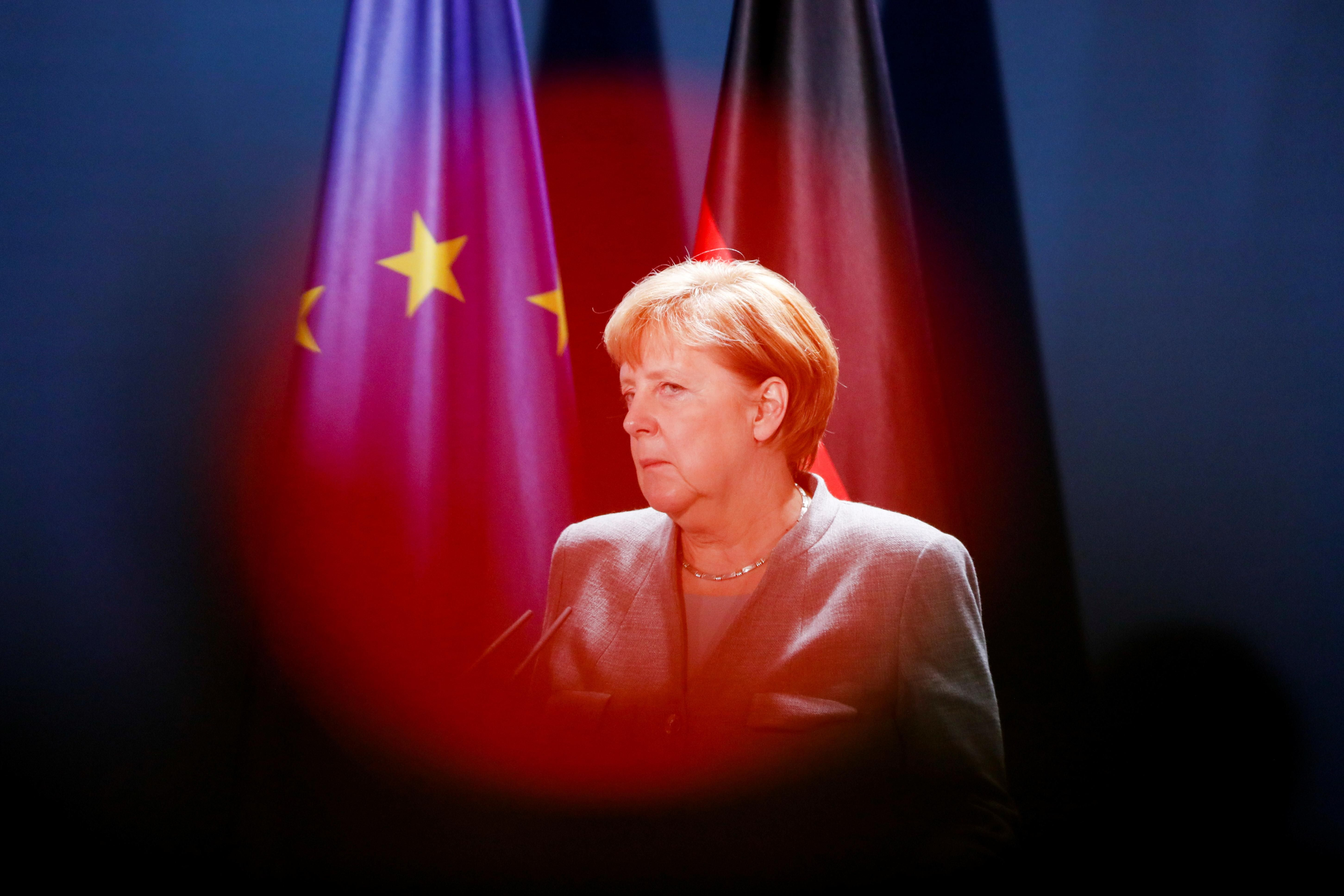 German Chancellor Angela Merkel. Reuters