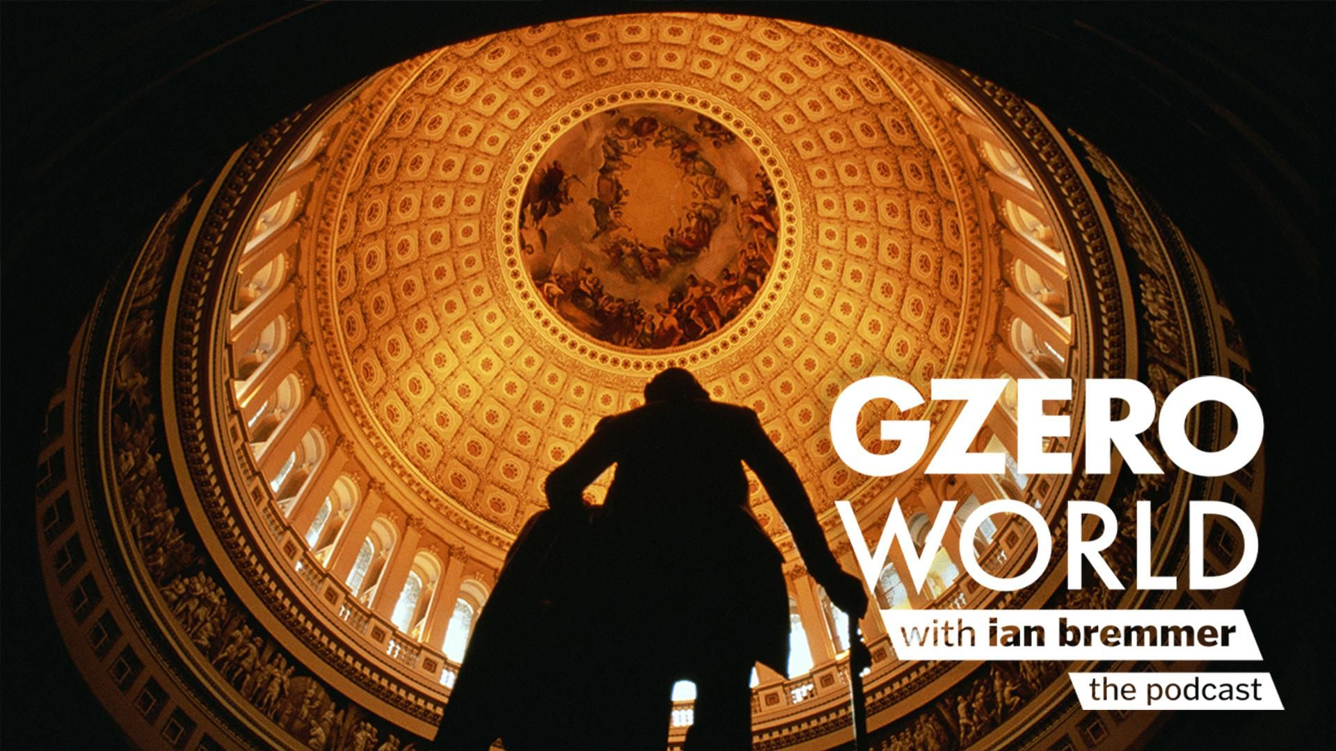 GZERO World Podcast: Can Democrats and Republicans agree on anything? Interior view of the US Capitol dome