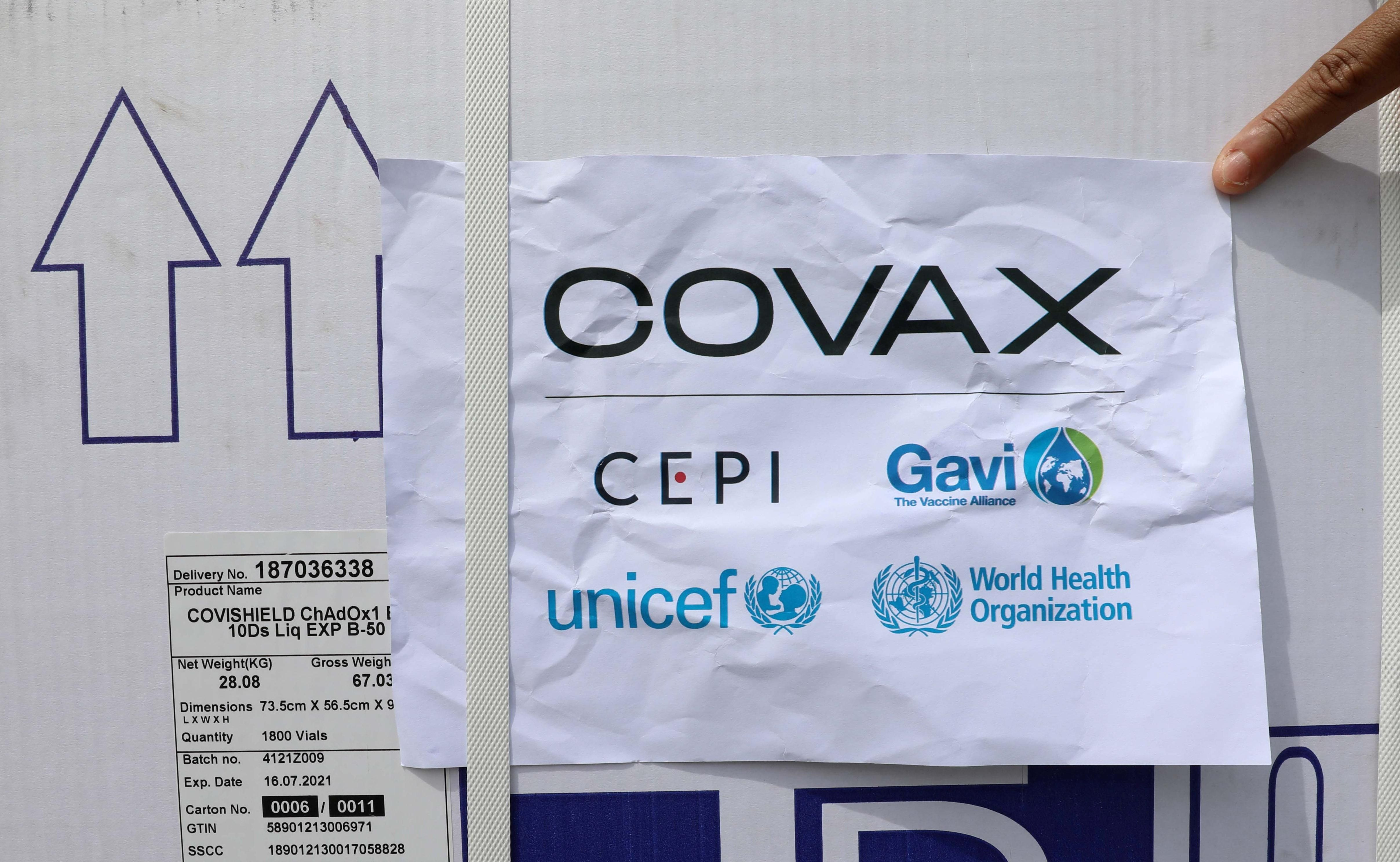 Hard Numbers: COVAX delivery, Beijing's billionaires, Belfast burns, a global seed cartel