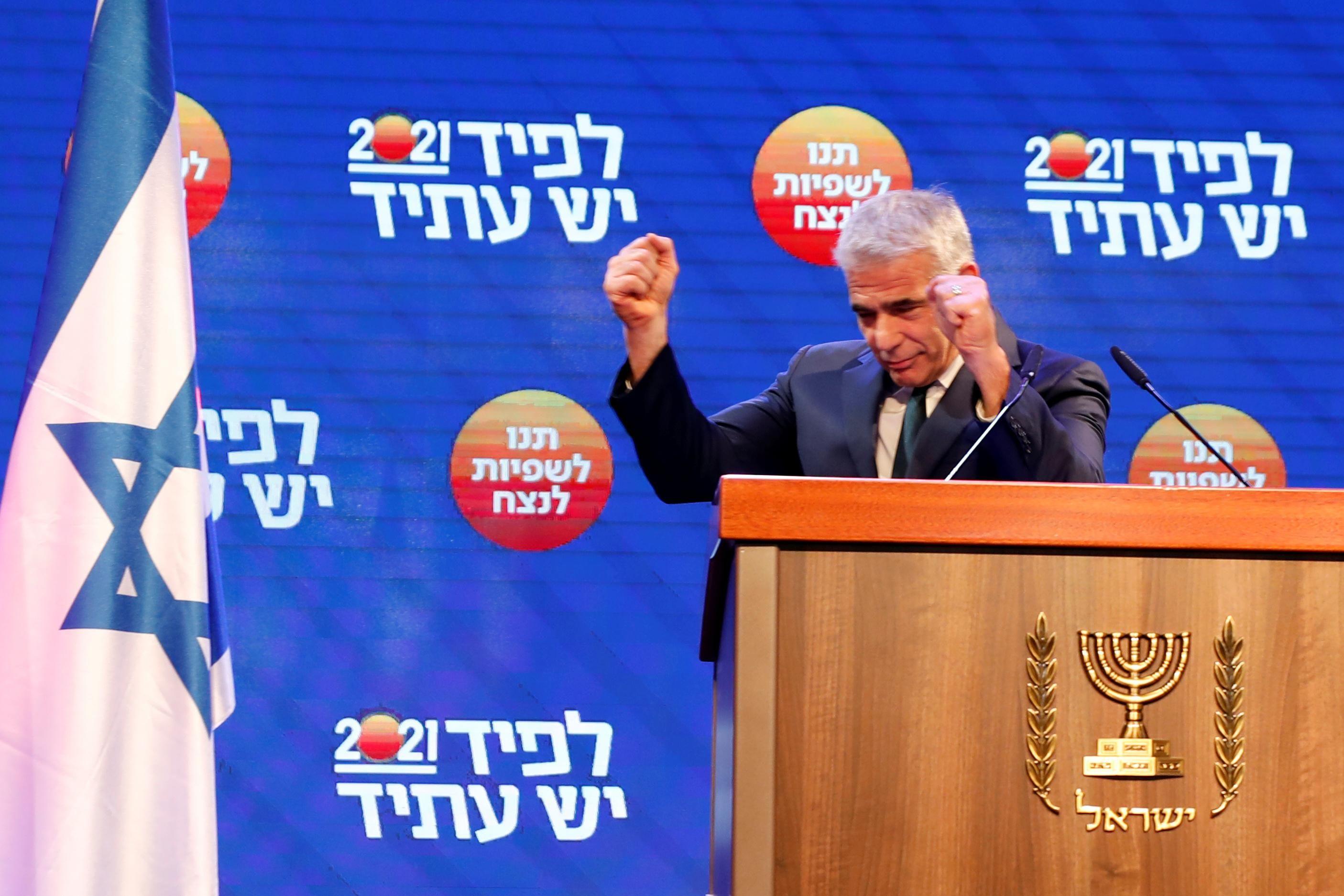 Hard Numbers: Israel PM hopeful, Facebook board punts on Trump, Japan's COVID squid, US population declining