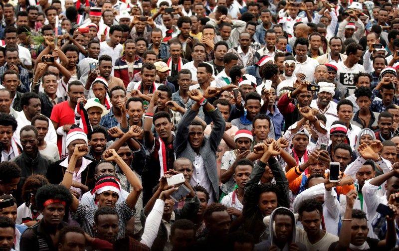 Struggling Ethiopia