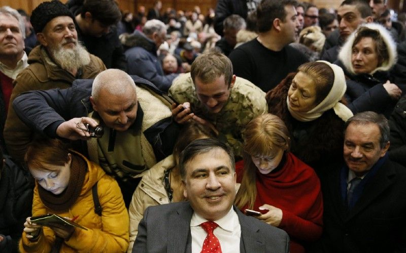 Signal of the Absurd: Saakashvili's Restaurant Review