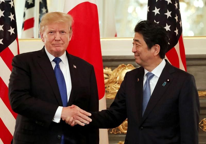 The Great Escape? Trump and Abe at Mar-A-Lago