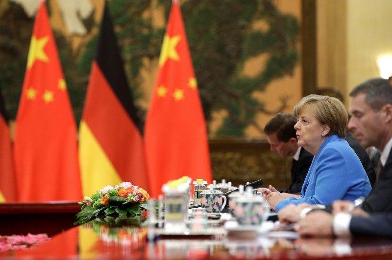 Merkel's Mission to China